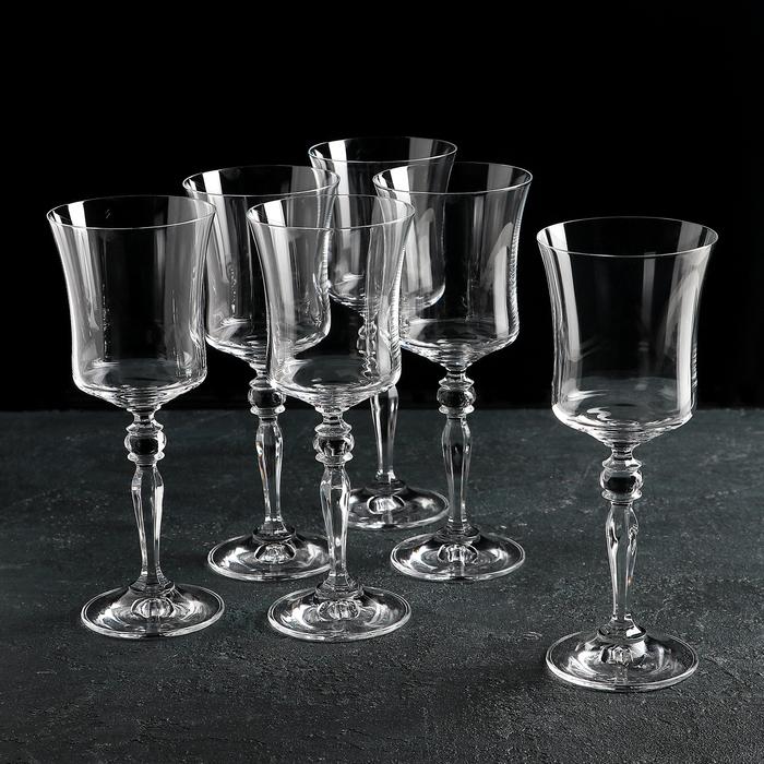 """Набор бокалов для вина 250 мл """"Грация"""", 6 шт"""