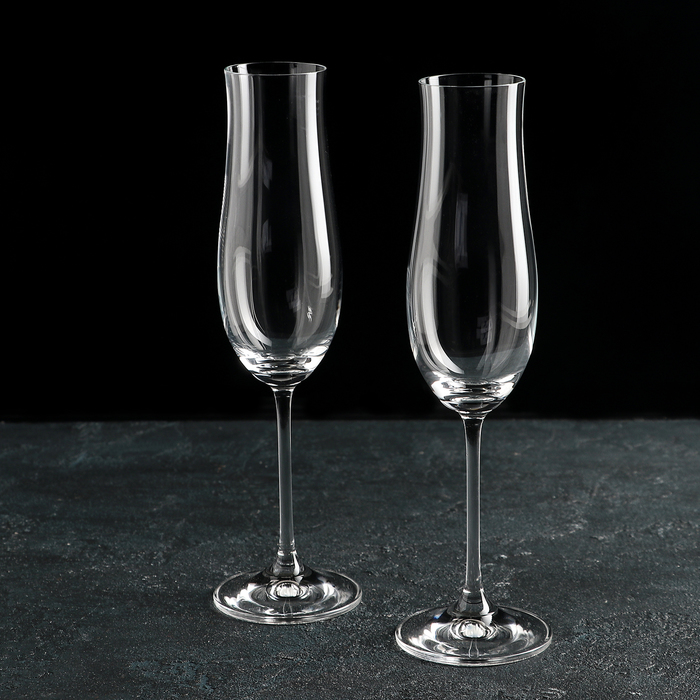 "Набор бокалов для шампанского 180 мл ""Аттимо"", 2 шт"