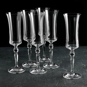 """Набор бокалов для шампанского 190 мл """"Грация"""", 6 шт"""