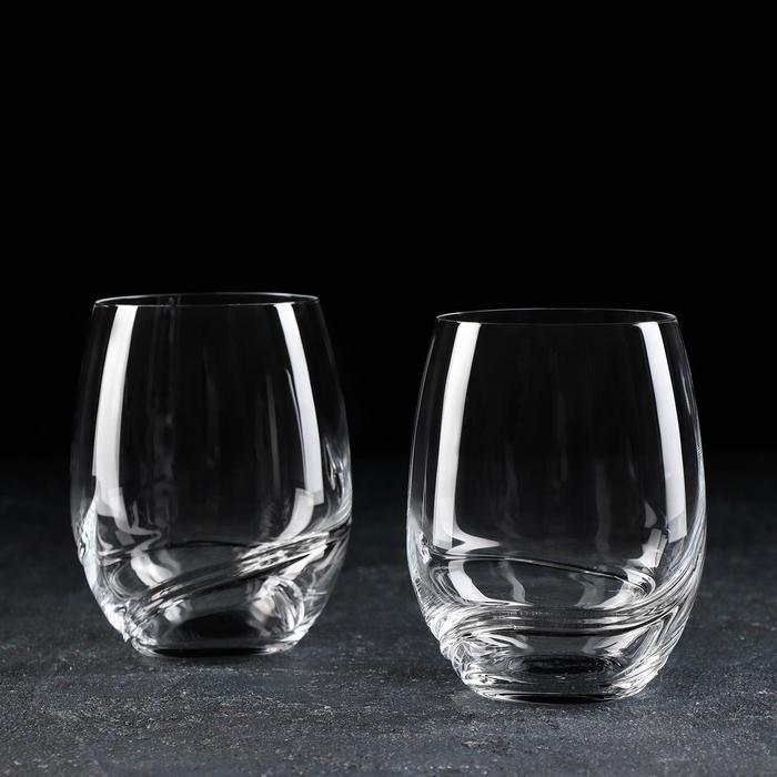 """Набор стаканов для виски 500 мл """"Турбуленция"""", 2 шт"""