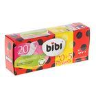 Прокладки ежедневные Bibi Panty Normal Deo ароматизированные, 20 + 5 шт