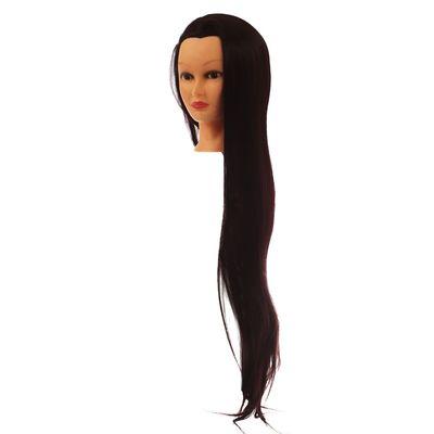 Голова тренировочная искусственная с протеиновыми волосами  №118 80 см