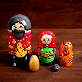 Матрёшка «Курочка Ряба» 5 в 1, МИКС