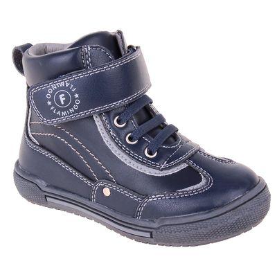 Ботинки детские арт. W6XY153, цвет синий, размер  22