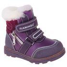 Ботинки детские арт. W6XY323 (фиолетовый) (р. 24)