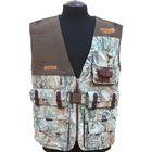 Жилет «Охотник» на 20 патронов с рюкзаком, утепленный, камуфляж «Лес», размер 46-48