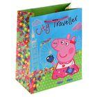 """Пакет подарочный """"Пеппа на каникулах"""" 23 х 18 х 10 см, Peppa Pig"""