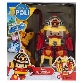 Трансформер «Рой» в костюме суперпожарного