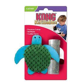"""Игрушка Kong  """"Черепашка"""" с кошачьей мятой для кошек, 7 см"""