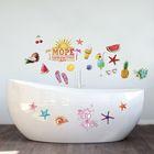 """Наклейки декоративные для ванной """"Море удовольствий"""", 50 х 70 см"""