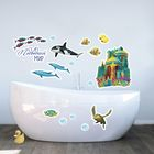 """Наклейки декоративные для ванной """"Подводный мир"""", 50 х 70 см"""