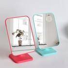 Зеркало настольное, зеркальная поверхность 14,3 × 19,4 см, МИКС