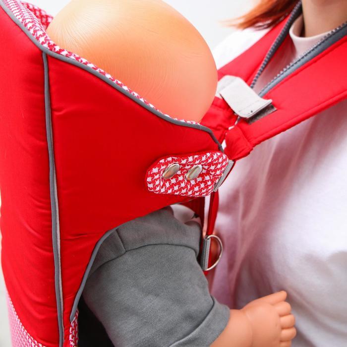 Рюкзак-кенгуру «Дискавери», цвет красный - фото 105545762