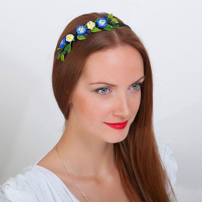 """Ободок для волос ручной работы """"Летний"""" - фото 301711512"""