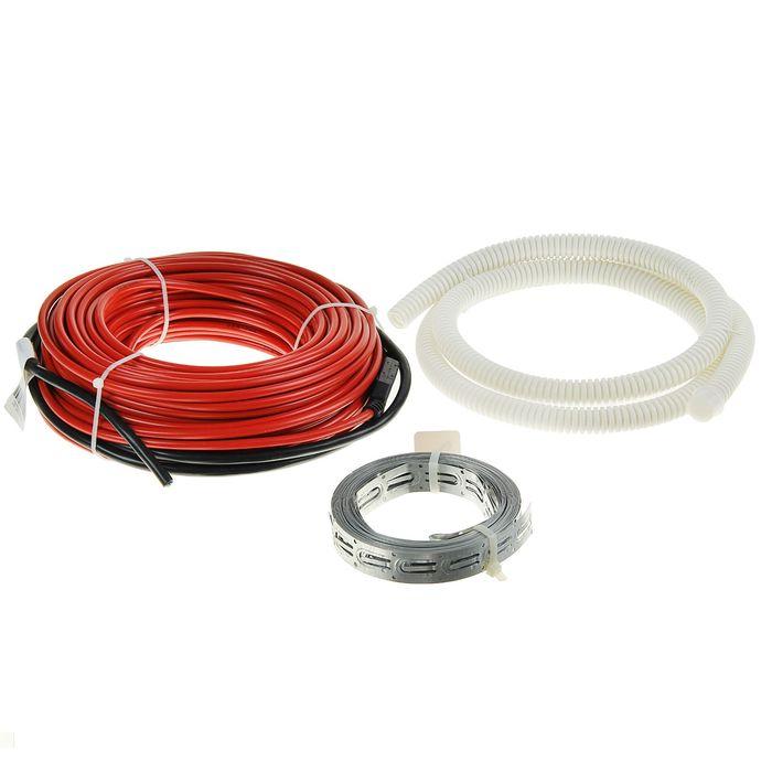 Теплый пол Warmstad WSS 530, кабельный, 530 Вт, под плитку/стяжку, 3.5-4.8 м2,