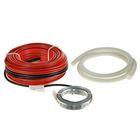 Теплый пол Warmstad WSS 665, кабельный, под плитку/стяжку, 4.4-6.0 м2, 665 Вт,