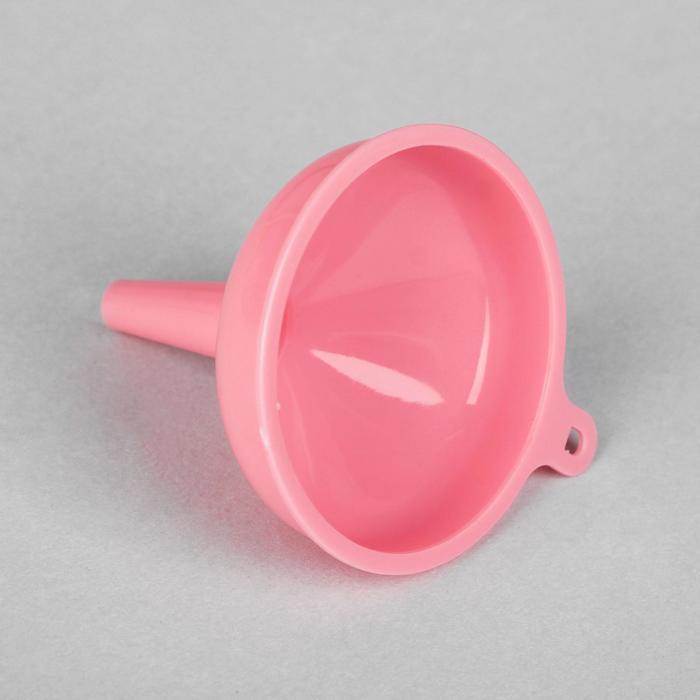 Воронка, цвет розовый