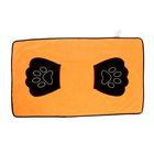 Полотенце для животных с удобными захватами-лапками, 83 х 47 см, микс цветов