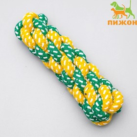 Toy rope braided, mixed colors