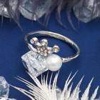 """Кольцо """"Корона"""" принцессы, цвет белый в серебре, размер 17,18,19 МИКС"""