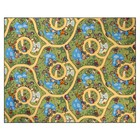 Палас принт Карусель, размер 150х200 см, цвет зелёный, полиамид