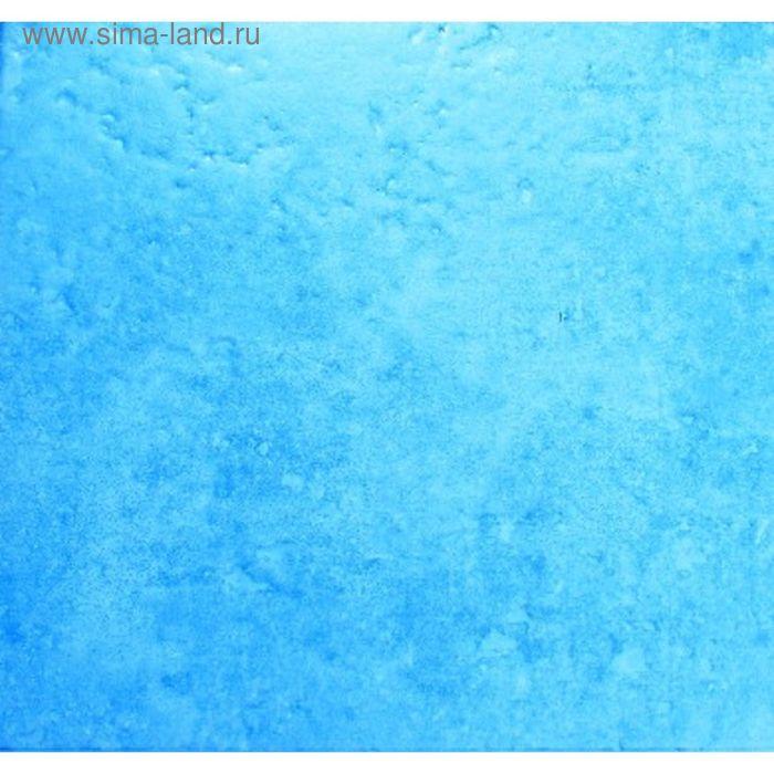 Плитка напольная голубая Коктейль 33х33 см  АК8 (в наборе 0,98м2)