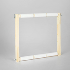 Пяльцы-рамка для вышивания, деревянные, 30х30см