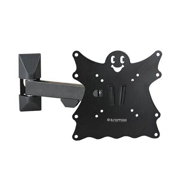 """Кронштейн Kromax CASPER-203, для ТВ, наклонно-поворотный, 20""""-43"""", 57-307 мм от стены,черный"""