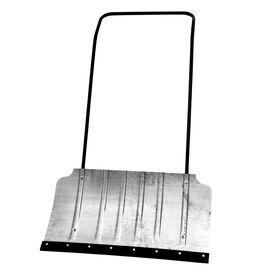 Движок алюминиевый, размер ковша 43 х 75 см, металлическая планка Ош