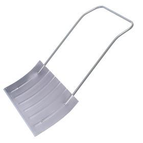 Движок алюминиевый, размер ковша 37,5 × 75 см, металлическая планка