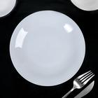 Тарелка мелкая 18,5 см «Это», цвет белый