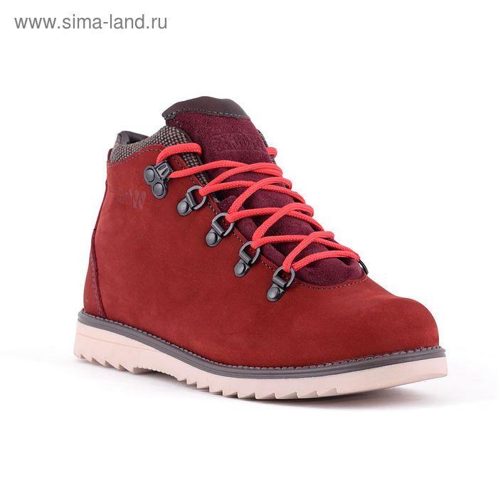 Ботинки TREK Литл Парк 95-30 мех (бордово-розовый) детские (р.33)