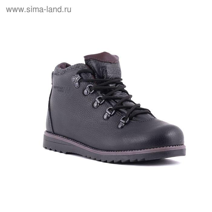 Ботинки TREK Литл Парк 95-56 мех (черный) (р.37)
