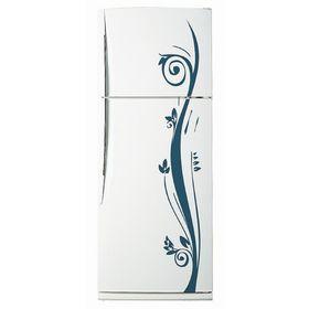 Декоративная цветная наклейка на холодильник из винила «Растение»