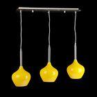3 лампы желтая