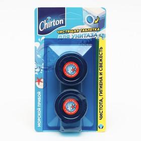 Чистящие таблетки для унитаза Chirton 'Морской прибой', 2 шт. × 50 г Ош