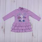 """Платье для девочки """"Ушастые истории"""", рост 80 см (50), цвет светло-сиреневый  ДПД183067_М"""