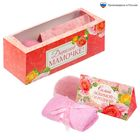 """Набор в подарочной коробочке """"Дорогой мамочке"""": соль 150 г (роза), бурлящий шар (роза), полотенце (20х20)"""