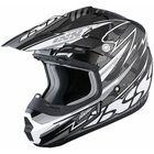 Шлем кроссовый HX 261 Thunder серый
