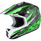 Шлем кроссовый HX 261 Thunder зелёный