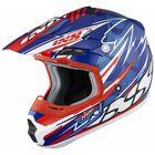 Шлем кроссовый HX 261 Thunder синий