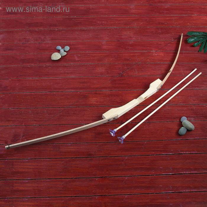 Сувенир деревянный «Лук+2 стрелы»