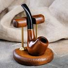"""Подставка для курительной трубки """"Арка"""" для одной трубки"""