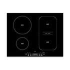 Варочная поверхность Whirlpool ACM 810/BF, индукционная, 4 конфорки, черная