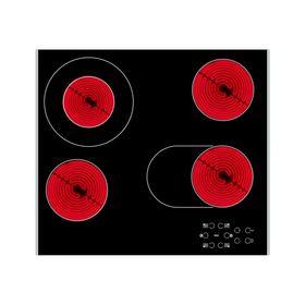 Варочная поверхность Whirlpool AKT 8210 LX, электрическая, 4 конфорки, черный