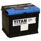 Аккумуляторная батарея Titan Euro Silver 56 Ач, обратная полярность