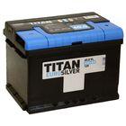 Аккумуляторная батарея Titan Euro Silver 60 Ач, обратная полярность, низкая