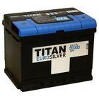 Аккумуляторная батарея Titan Euro Silver 63 Ач, обратная полярность