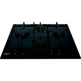 Варочная поверхность Hotpoint-Ariston PCN 642 /HA(BK), газовая, 4 конфорки, черный