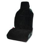Накидка на сиденье, 57х142 см, шерсть 100%, черная